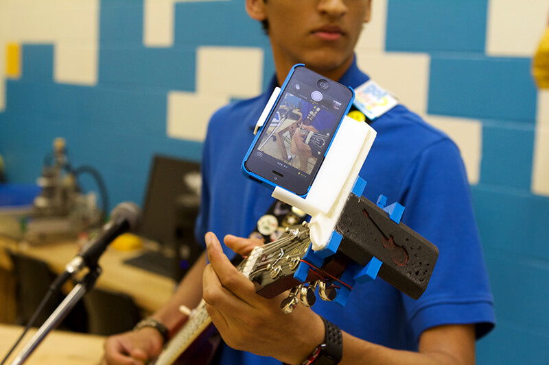 Linking Youth to Local Creative, Arts, and Technology Scenes - Reclaiming Digital Futures